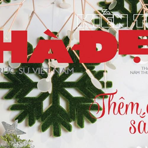 Tạp chí Kiến Trúc Nhà Đẹp số tháng 12-2015