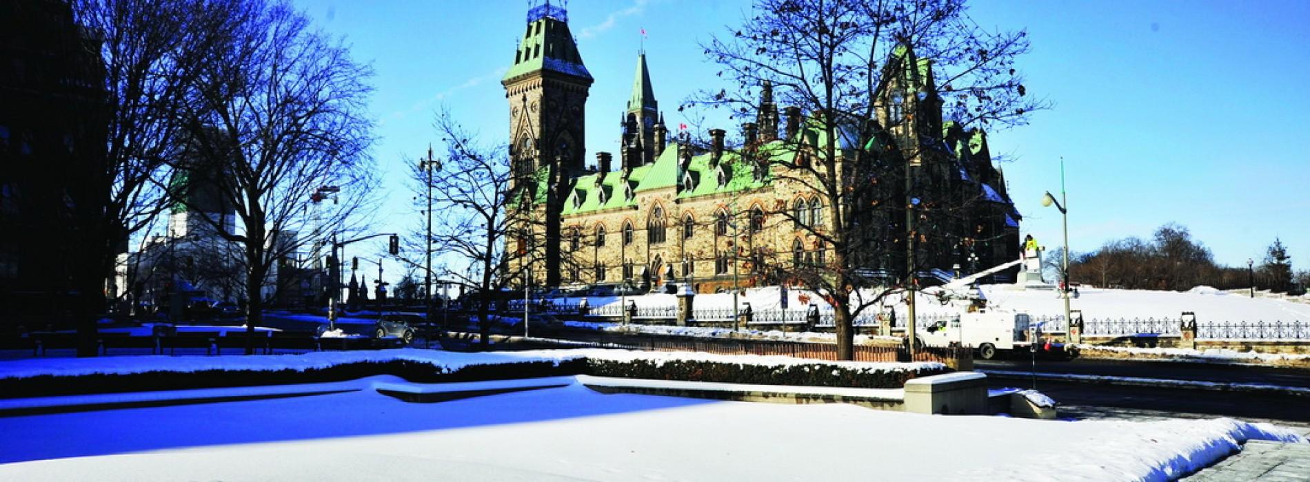 Mùa đông Ottawa