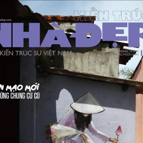 Tạp chí Kiến Trúc Nhà Đẹp số tháng 10.2016
