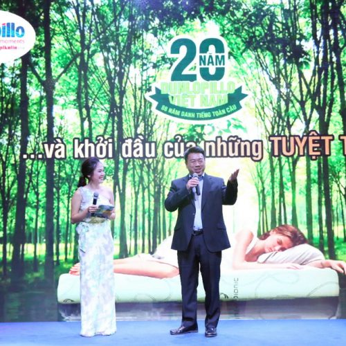 Dunlopillo Việt Nam ra mắt nệm cao su Latex World