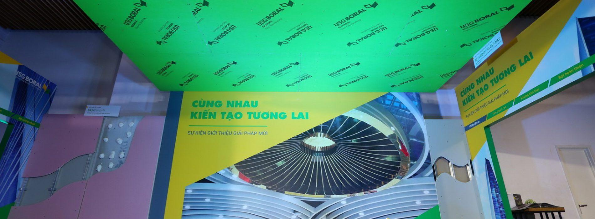 USG Boral Việt Nam ra mắt các giải pháp  vật liệu nhẹ đột phá cho ngành xây dựng hiện đại