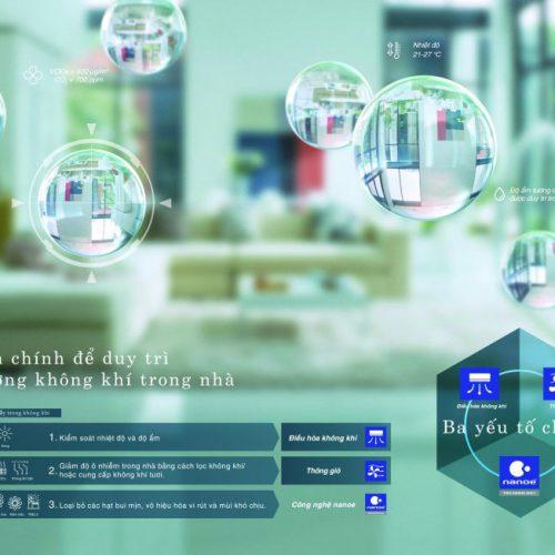 Panasonic tái định nghĩa tiêu chí khí sạch theo chuẩn người Nhật