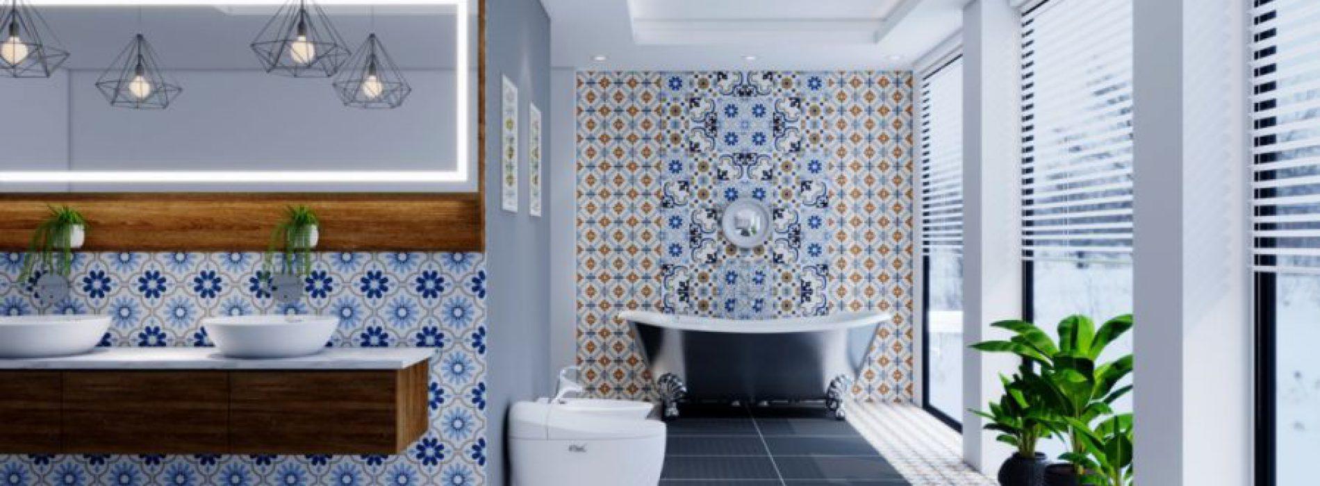 Ứng dụng gạch bông granite trong thiết kế nội – ngoại thất
