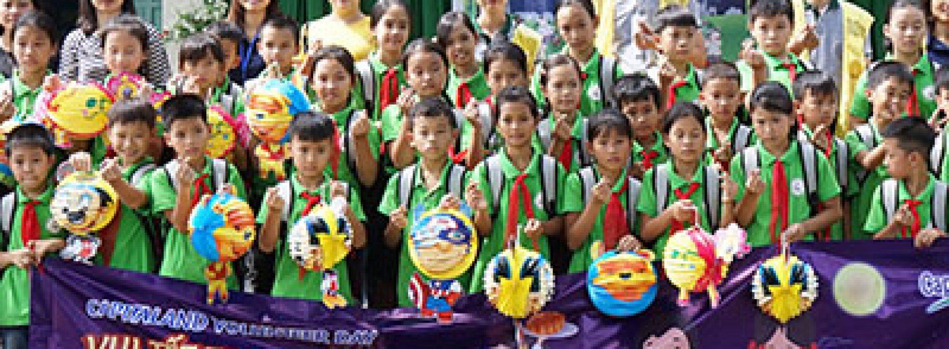CapitaLand trao quà và học bổng cho hơn 1.400 học sinh tại bốn trường CapitaLand Hope nhân dịp Trung thu