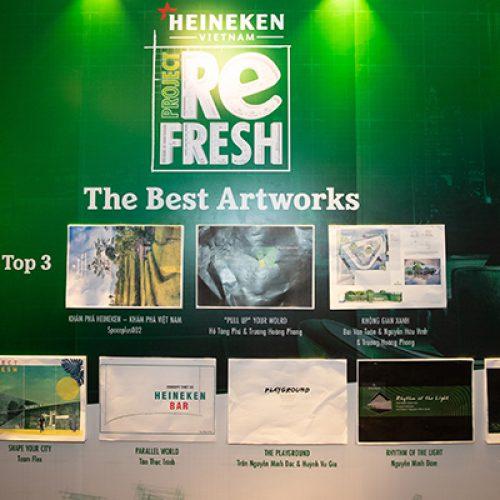 """Thiết kế """"Pull Up Your World"""" giành giải nhất cuộc thi sáng tạo của Heineken"""