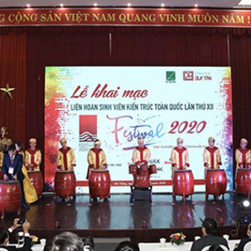 LIÊN HOAN SINH VIÊN KIẾN TRÚC TOÀN QUỐC LẦN THỨ XII – FESTIVAL 2020