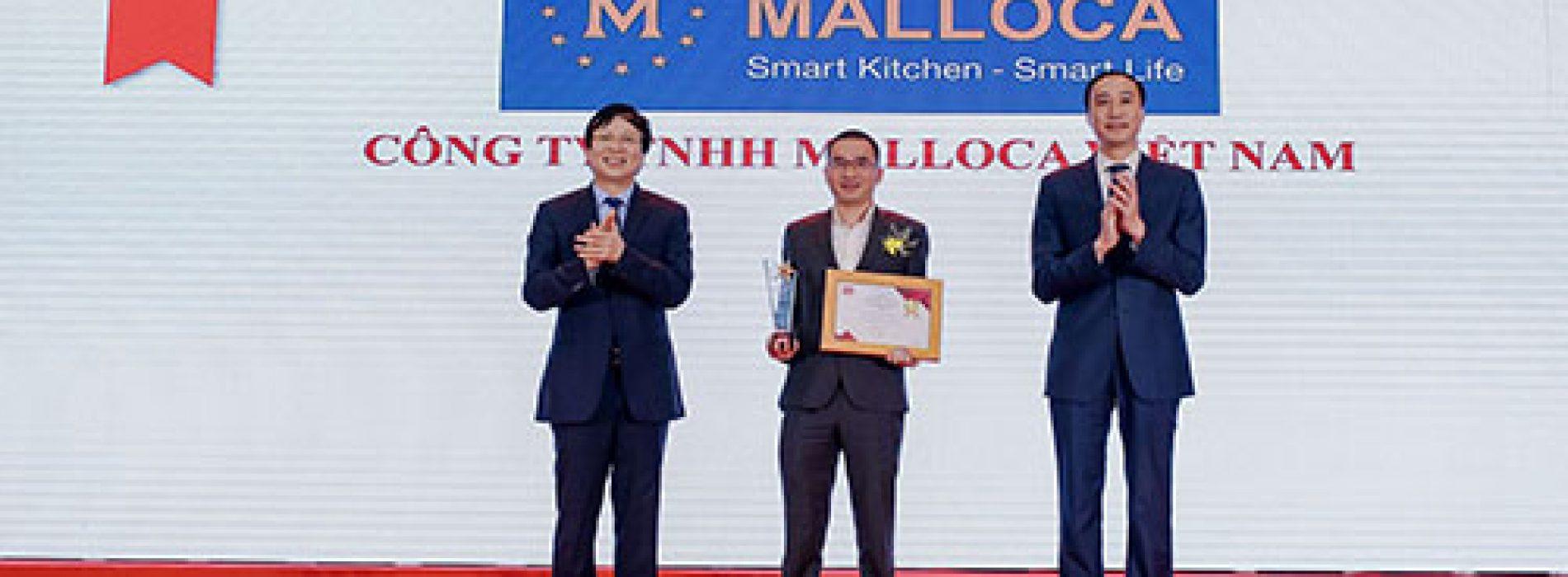 Malloca được vinh danh Top 100 sản phẩm – dịch vụ tin dùng Việt Nam 2020