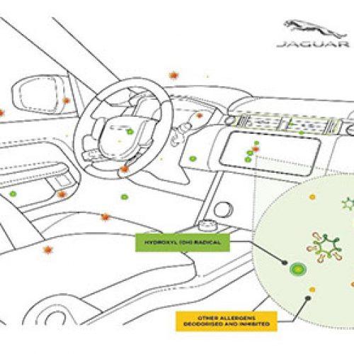 Công nghệ Nanoe TM X của Panasonic sẽ được trang bị trên hệ thống Điều hòa không khí của xe Jaguar Land Rover trong thời gian tới