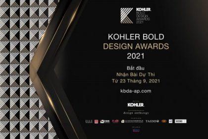 Giải thưởng thiết kế KOHLER Bold Design Awards khu vực Châu Á Thái Bình Dương 2021